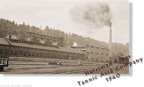 harriman paper tannic acid co, 1940